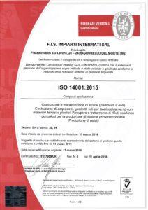 FIS 14001-2015